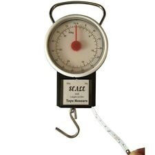 32KG PORTABLE TRAVEL SUITCASE BAGGAGE LUGGAGE WEIGHING SCALE HOOK WEIGHT RH