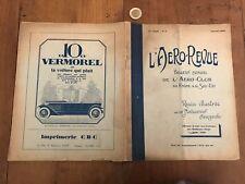 l aero revue numéro 17 1928