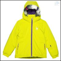 $140 NEW SPYDER GIRLS KIDS INSULATED SKI SNOWBOARD BITSY TRIXY JACKET 8 10