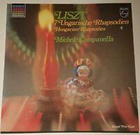 Liszt 7 Ungarische Rhapsodien Michele Campanella Philips Stereo 6527 069