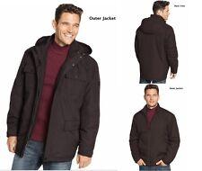 NWT-$280 Hawke & Co 3-in-1 ~MEDIUM~ Winter Coat Jacket Hooded Waterproof Snow