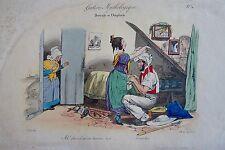 GRANDVILLE (Jean-Ignace-Isidore Gérard dit) (1803-1847) : Galerie mythologique.