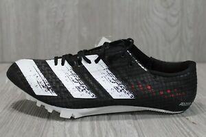 58 Adidas Adizero Finesse Track Field Spikes Black Mens New EG1204 5 6 - 12.5