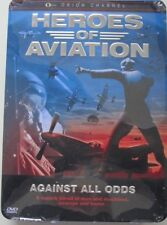 HEROES OF AVIATION - AGAINST ALL ODDS - BOXSET 4 DVD - METAL BOX (sealed)