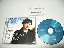 Yoshihiro Kondo Hommage a Adagio Karajan piano Solo Works 11 track 1999 Japan cd
