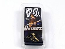 Ibanez Guitar Picks  Paul Gilbert Signature  Black Jazz  Heavy  6 Pack