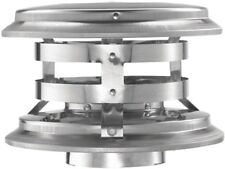 DuraVent 8 x 8 in.Fixed Vertical Chimney Cap Corrosion Resistant Stainless Steel