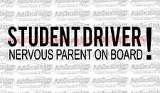 Student Driver Car Truck Window Bumper Decal Sticker Funny Racing Jdm Phrase 288