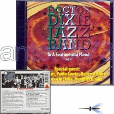 DOCTOR DIXIE JAZZ BAND 2 MOOD CD PAOLO CONTE LUCIO DALLA RENZO ARBORE PUPI AVATI