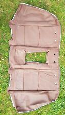 Orginal BMW 5er F10 Rücksitzlehne 522072541 Rücksitzban Bezug  Leder Zimtbraun