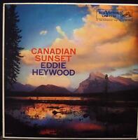 Eddie Heywood - Canadian Sunset LP VG+ LPM-1529 Mono USA 1957 RCA Jazz 1s/5s