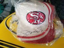 San Francisco 49ers Reebook NFL Pro Line Cap Hat Snapback Vintage Signed Montana
