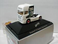 "Herpa 920834 - Scania R TL Zugmaschine ""Obruly/Arnold Schwarzenegger"" PC 1:87"