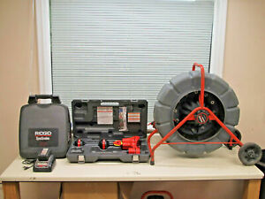 Ridgid Seesnake Count Plus 250' Reel w CS12X Recording Monitor & Scout Locator