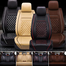 New Luxury PU Leather Auto Car Seat Cover 3D Surround 5-Seat Protector Cushions