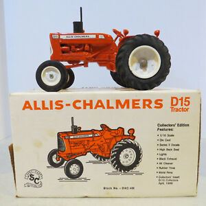 SpecCast Allis Chalmers D15 Tractor Series II Collector Ed. 1/16 AC-DAC401-B2