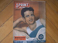 Aldo Ronconi Tour de France 1947 Mesh Yellow Magazine France
