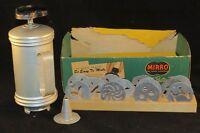 VINTAGE 1950's MIRRO ALUMINUM COOKIE PRESS GUN SET 12 Discs Piping Tube Box