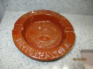 MASON CITY IOWA IA BRICK AND TILE DENISON CLAY ADVERTISING ASHTRAY