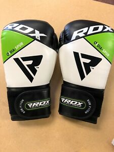 RDX BGR F7 12oz. Boxing Gloves F-7 Ultimate Grip MG1 Membrane Grid Green