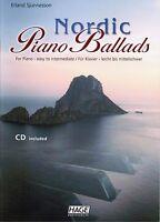 Klavier Noten : Nordic Piano Ballads leicht - mittelschwer mit  CD HAGE