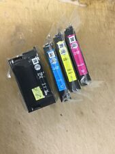 Genuine Epson DuraBrite 252XL High Yield Ink Cartridges 4 Pack B/C/M/Y
