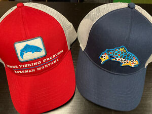Simms Trout Trucker Hat Ca Fly Fishing