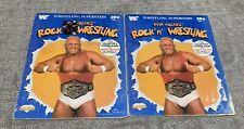 Hulk Hogan's Rock N Wrestling Sticker Book.  WWF WWE
