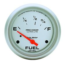 """AUTO METER 4415 2 5/8"""" ULTRA-LITE FUEL LEVEL GUAGE FORD & CHRYSLER"""
