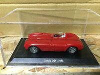 "DIE CAST "" LANCIA D24 - 1953 "" + TECA RIGIDA BOX 2 SCALA 1/43"