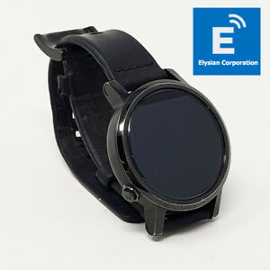 Motorola Moto 360 IP67 - Smartwatch Black Leather - Heart Rate Monitor - Grade C