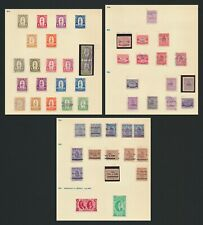More details for honduras stamps 1923-1929 statues inc imperf between & 1926/7 errors