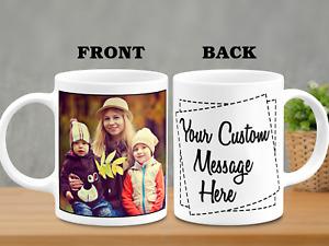 Personalised Photo Mug Custom Family Coffee Mug Custom text mothers day Gift