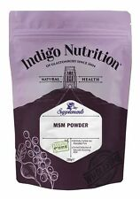 MSM Crystal Powder - 250g - (Quality Assured) Indigo Herbs