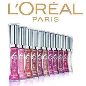 L'oreal Paris Glam Shine 6hr Lipgloss | CHOOSE YOUR COLOUR |