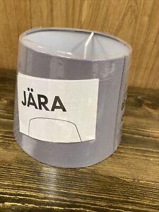 """Ikea JÄRA Gray Canvas Lamp Shade 10"""" 25 cm NEW"""