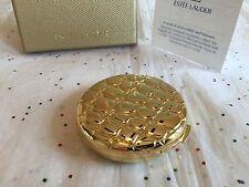 ESTEE LAUDER FULL IN BOX POWDER COMPACT LUCIDITY GOLDEN ALLIGATOR COMPACT