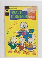 WALT DISNEY COMICS AND STORIES #3,6,12 1974-75 (3) BOOK READER LOT. LOW GRADE