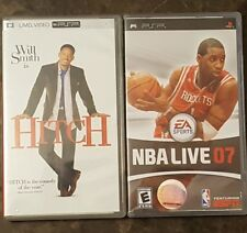 ** Hitch - UMD MOVIE and NBA LIVE 07 for Sony PSP ~ MOVIE and Game Disk Bundle