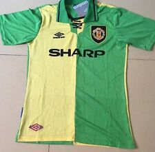 Manchester United Camisa Top desde 7 Tamaño Mediano Newton Heath Retro Jersey