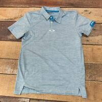Oakley Mens Golf Polo Shirt Size Small B119