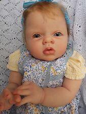"Sweet 21"" Reborn Baby Girl Doll Lenya by Reva Schick Resell now Aimee w COA"