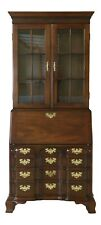 50540Ec: Councill Craftsmen Chippendale Mahogany Secretary Desk