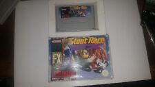 Super Nintendo Boxed Game * STUNT RACE FX * SNES PNG