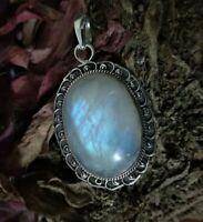925 Sterling Silver Malachite Pendant Fashion Women Jewelry For Gift Ct 201