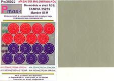 Model Maker 1/35 MARDER III M Paint Mask Set for Tamiya #35255