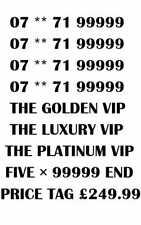GOLD LUXURY VIP PLATINUM RARE 99999 BUSINESS MOBILE NUMBER - PLATINUM 99999 VIP