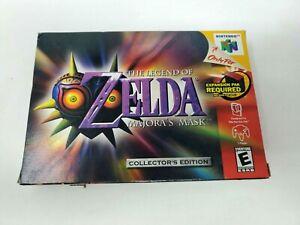Legend of Zelda: Majora's Mask Nintendo 64 Complete Good Condition Fast Shipping