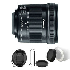Canon EF-S 10-18mm f/4.5-5.6 IS STM Lens for Canon with Accessories