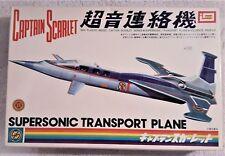 Captain Scarlet -  Supersonic Transport Plane Model Kit